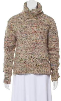 Celine Wool & Silk Cable Knit Sweater