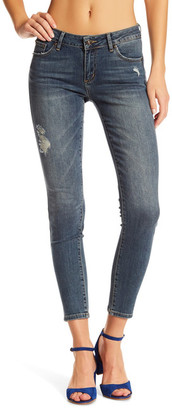 Just USA Mid Rise Jegging Ankle Skinny Jean (Juniors) $59.99 thestylecure.com