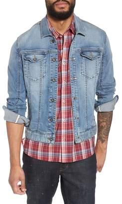John Varvatos Slim Fit Denim Trucker Jacket