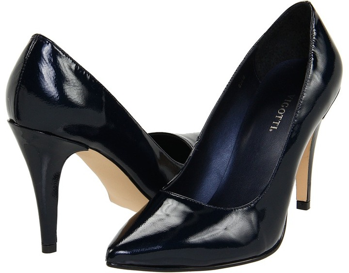 Vigotti Cora (Navy Patent) - Footwear