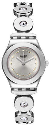 Swatch Time to Collection Inspirance Stainless Steel Bracelet Watch
