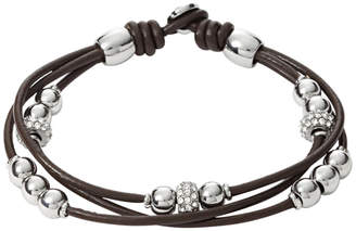 Fossil Rondel Wrist Wrap- Chocolate