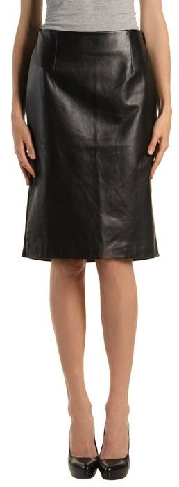 MAISON MARTIN MARGIELA 4 Leather skirt