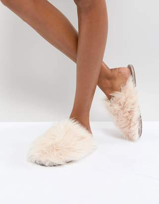 Bedroom Athletics Gwen Lux Fur Mule