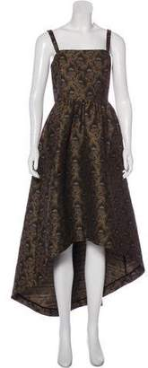 Co Jacquard Evening Dress