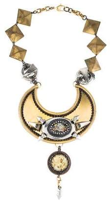 Erickson Beamon Crystal & Resin Collar Necklace