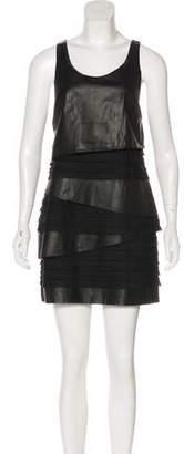 Rag & Bone Leather Mini Dress