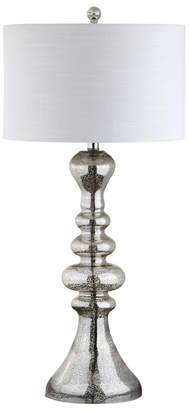 Jonathan Y Madeline Curved Glass Led Table Lamp