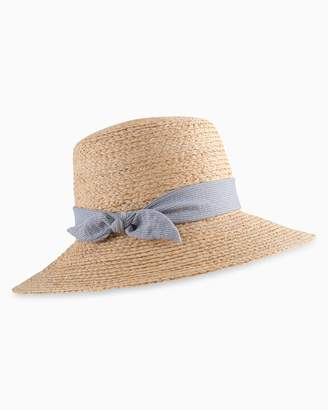 Southern Tide Womens Tweed Straw Hat