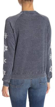 Freeze Sometimes Naughty Stitch Graphic Sweater