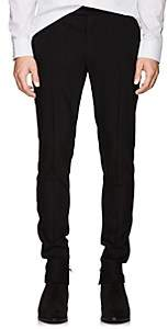 Balmain Men's Wool Skinny Tuxedo Trousers - Black