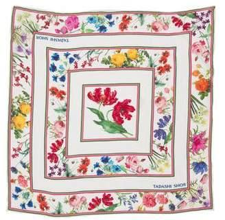 Tadashi Shoji Floral Print Silk Scarf