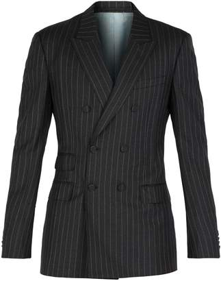 Gucci Striped double-breasted blazer