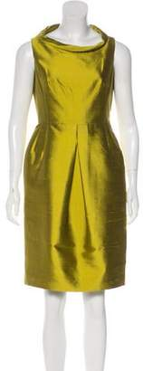 Michael Kors Low-Blas Roll Knee-Length Dress