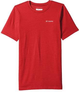 Columbia Kids Cullman Crest Striped Tee Boy's T Shirt
