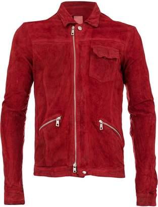 Giorgio Brato GU19S9006V CRIMSON Cotton/Nylon/Leather