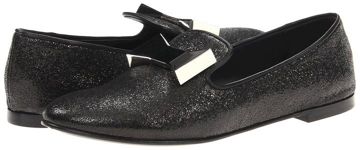 Giuseppe Zanotti E36145 (Cristallo Nero) - Footwear