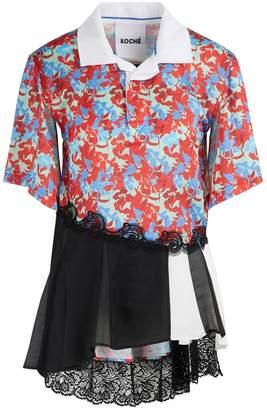 Koché Embellished polo shirt