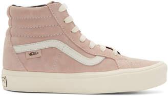 Vans Pink SK8-Hi Reissue Lite LX High-Top Sneakers