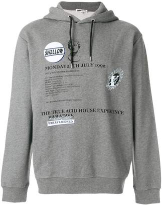 McQ (マックキュー) - McQ Alexander McQueen graphic print hoodie