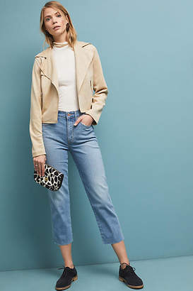 Ella Moss The High-Rise Straight Cropped Jeans