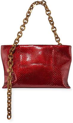 Calvin Klein Scull Soft Chain Clutch Bag