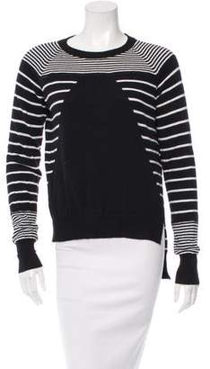 Rachel Zoe Striped Crew Neck Sweater