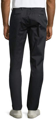 DKNY Men's Sateen Slim-Leg Trousers