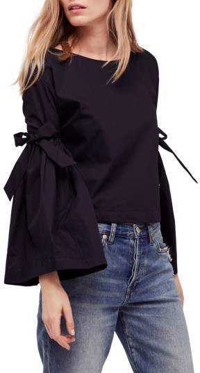 Women's Free People So Obviously Yours Bell Sleeve Top