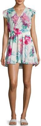 6 Shore Road Georgica Floral Printed Dress