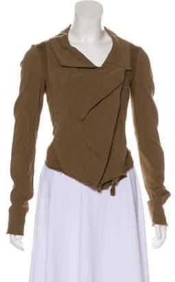 Urban Zen Asymmetrical Long Sleeve Cardigan