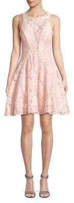 Xscape Evenings Sleeveless Lace A-Line Dress