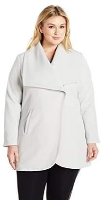 Lark & Ro Women's Size Open Front Jacket Plus