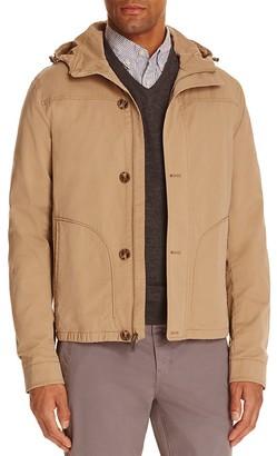 Michael Kors Hooded Cotton Jacket $248 thestylecure.com
