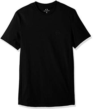 Armani Exchange A|X Men's Cotton Spandex Short Sleeve Jersey Tshirt