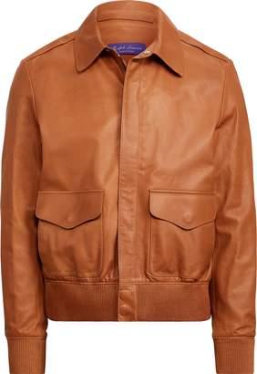 Ralph Lauren Calfskin Flight Jacket