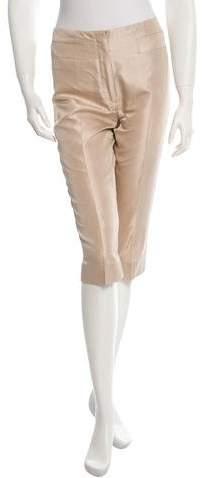 Prada Silk Cropped Pants w/ Tags