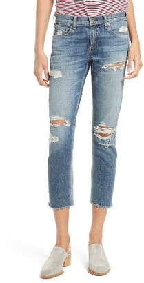 Women's Rag & Bone/jean The Dre Capri Slim Boyfriend Jeans $250 thestylecure.com