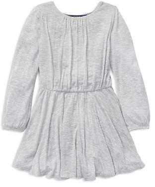 Polo Ralph Lauren Girls' Polka-Dotted Jersey Dress - Little Kid