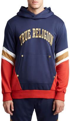 True Religion MENS TEAM BLOCK PULLOVER HOODIE