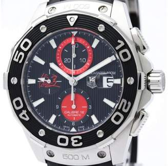 Tag Heuer Aquaracer CAJ2113 Stainless Steel & Rubber Automatic 44mm Mens Sports Watch
