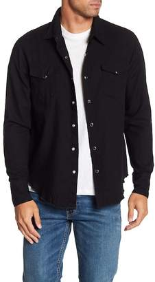 Frame Western Long Sleeve Regular Fit Shirt