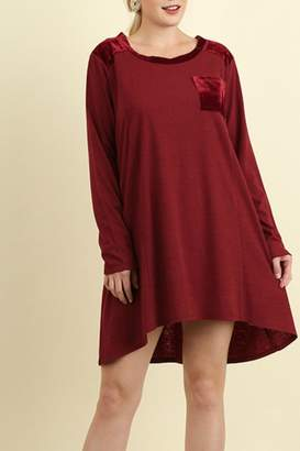 Umgee USA A Line Tee Dress