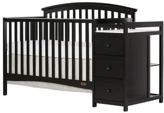 Dream On Me Niko 5-in-1 Convertible Crib and Changer Combo