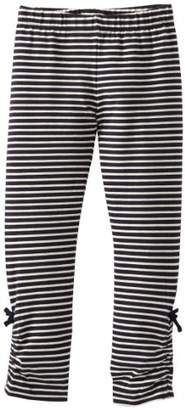 Hatley Navy Striped Rouched Leggings