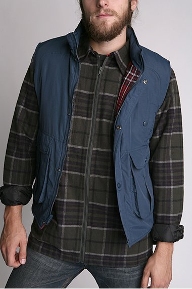 All Son All-Son Nylon Flannel Lined Vest