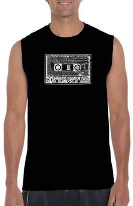 Pop Culture Los Angeles Pop Art Men's Sleeveless T-Shirt - The 80's