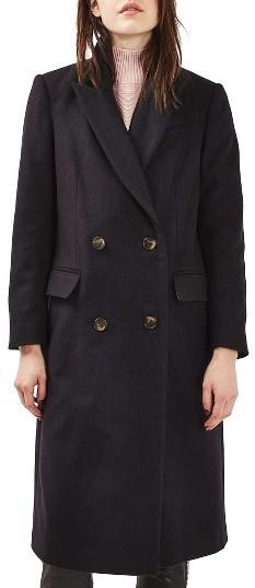 TopshopWomen's Topshop Editor's Wool Blend Coat