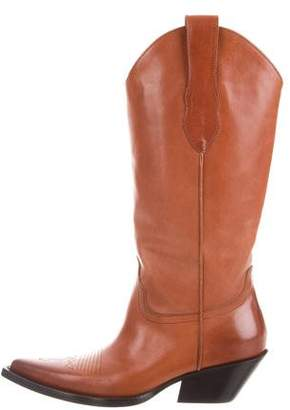 Maison Margiela 2018 Vegan Western Boots w/ Tags