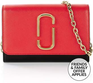 Marc Jacobs Snapshot Chain Strap Wallet